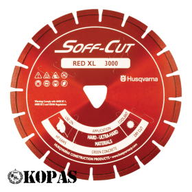 Varajase betoonilõikamise ketas Soff-CutXL6-3000